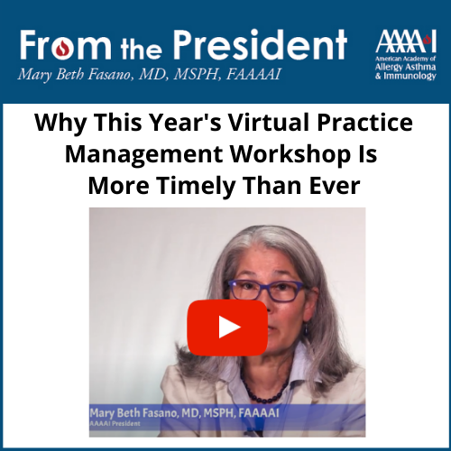 Image with link to video about this year's Virtual Practice Management Workshop