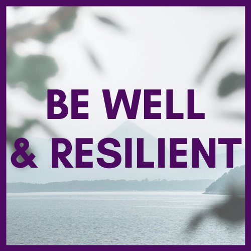 Clinician Wellness and Resilience Image