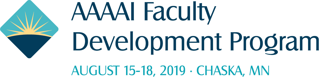 2019 Faculty Development Program