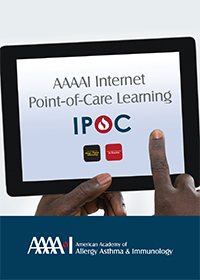 AAAAI Internet Point-of-Care Learning Logo 2
