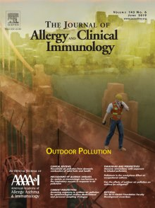 June 2019 Cover photo from the Journal of Allergy and Clinical Immunology