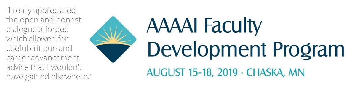 2019 AAAAI Faculty Development Program