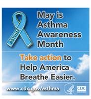 CDC Asthma Awareness Month logo