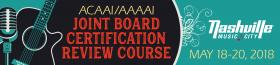 ACAAI/AAAAI Joint Board Certification Review Course graphic