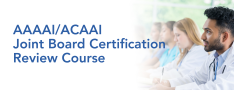 AAAAI/ACAAI Online Joint Board Certification Review Course logo