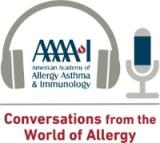 Conversations from the World of Allergy Podcast logo