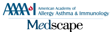 AAAAI/Medscape Educational Collaboration logo