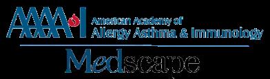 AAAAI/Medscape Educational Collaboration logo