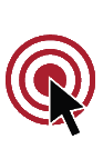Focus on Food Allergy Target Icon