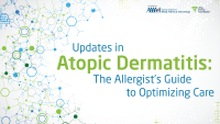 Updates in Atopic Dermatitis title slide